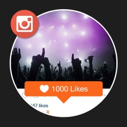 1000 Likes Instagram
