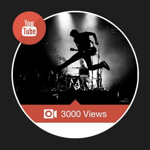 3000 Views Youtube