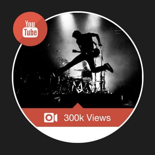 300000 Youtube Views