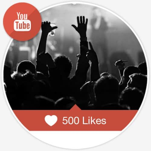500 Youtube Likes for Video