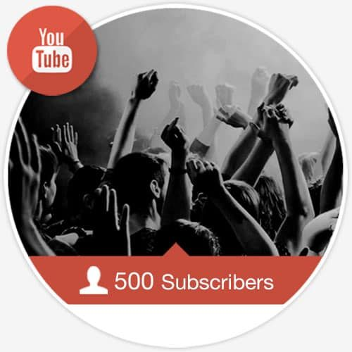 500 Youtube Subscribers