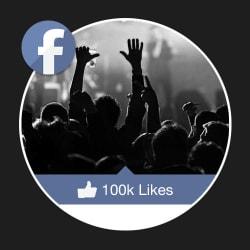 100,000 facebook Fan Page Likes