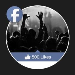 500 Facebook Fan Page Likes