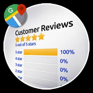 Google Business 5 Star Reviews