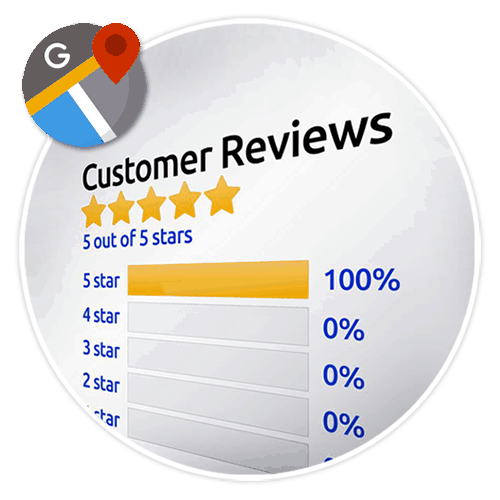 Google Business 5 Star Reviews
